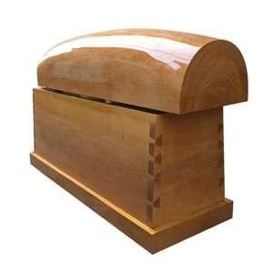 Quan tài gỗ trai QGT04