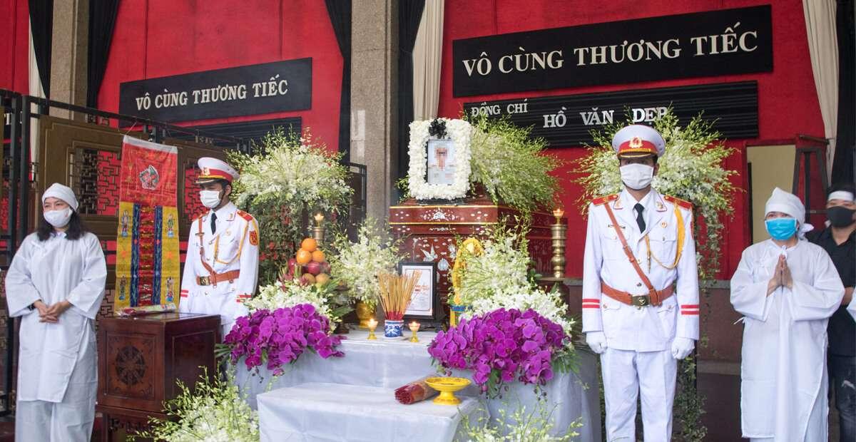 Một số hình ảnh dịch vụ Blackstones cung cấp tại Nhà tang lễ thành phố
