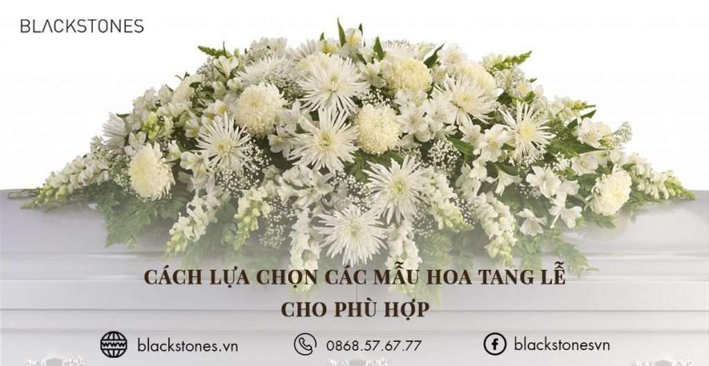 Cách lựa chọn các mẫu hoa tang lễ cho phù hợp