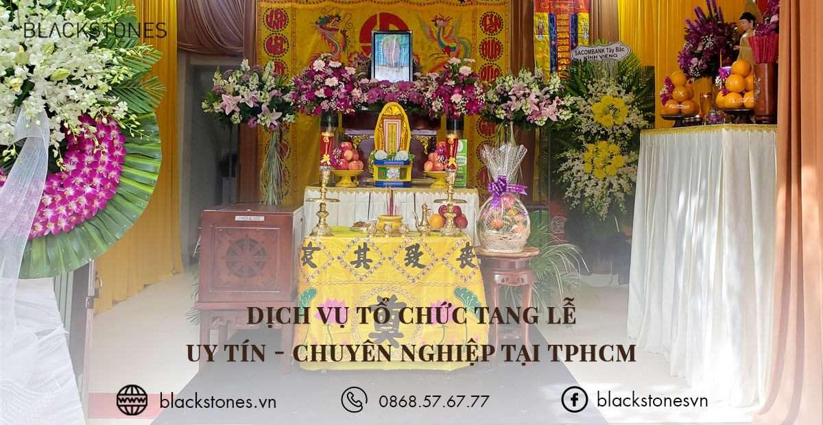Dịch vụ tổ chức tang lễ tại TPHCM