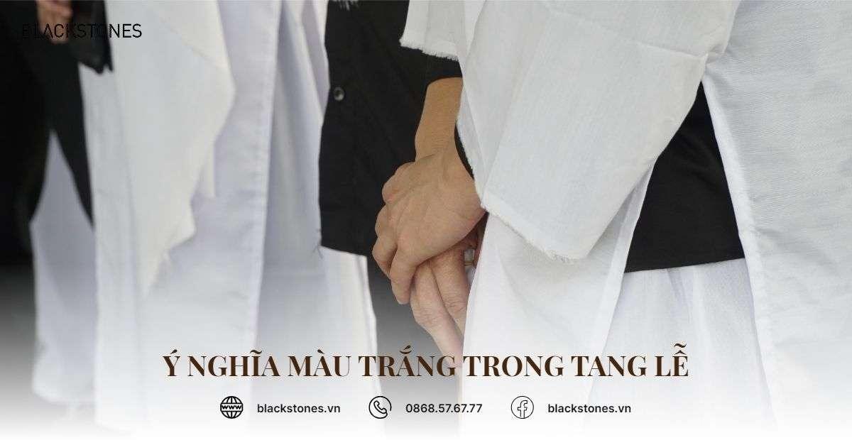Ý nghĩa màu trắng trong tang lễ